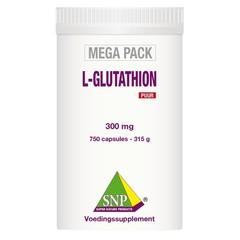 SNP L-Glutathion puur megapack (750 capsules)