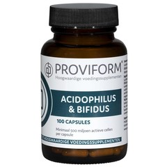Proviform Acidophilus & bifidus (100 capsules)