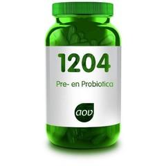 AOV 1204 Pre- en probiotica (v/h 1113) (30 vcaps)