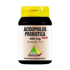 SNP Acidophilus probiotica 400 mg puur (60 capsules)
