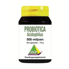 SNP Probiotica acidophilus 500 miljoen (60 capsules)