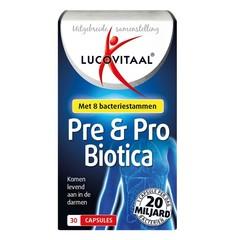 Lucovitaal Pre & probiotica (30 capsules)