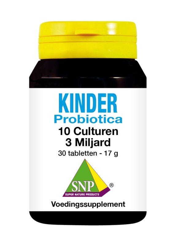 SNP SNP Probiotica kinder 10 culturen (30 tabletten)