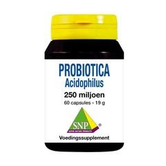 SNP Probiotica acidophilus 250 miljoen (60 capsules)