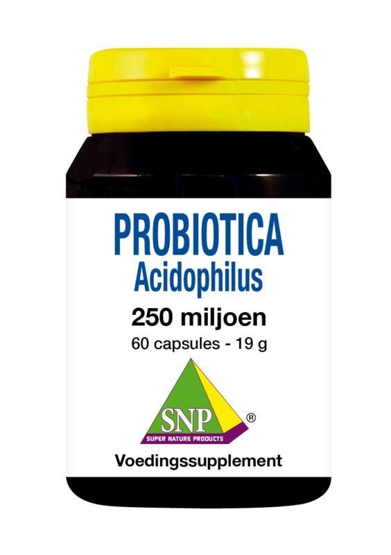 SNP SNP Probiotica acidophilus 250 miljoen (60 capsules)
