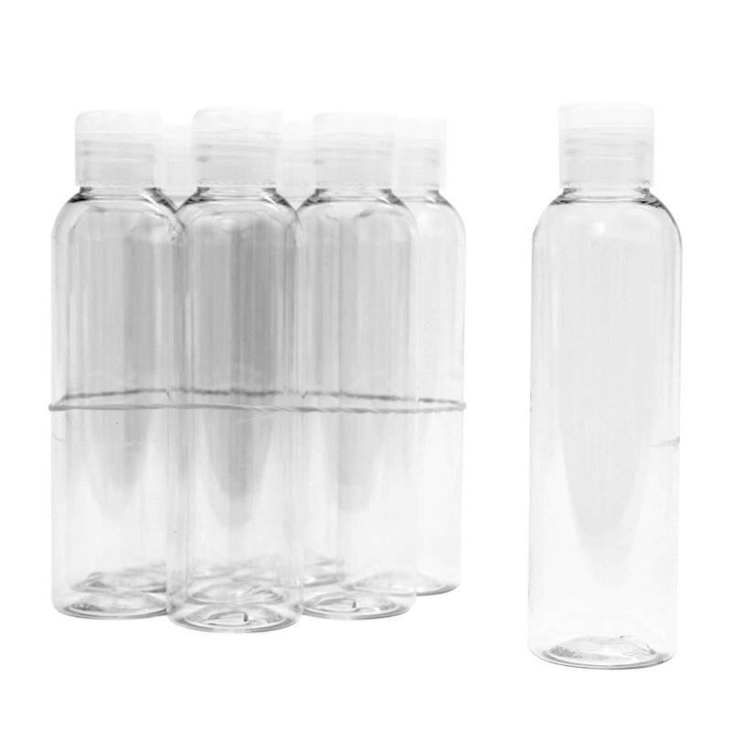 CHI CHI Pet flacon 100 ml met klapdop (10 stuks)