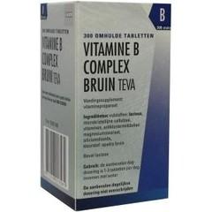 Teva Vitamine B complex bruin los (300 tabletten)