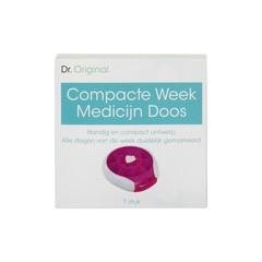 Dr Original Medicijndoos compact (1 stuks)