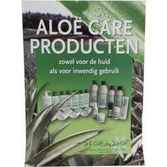 Aloe care poster A3 (1 stuks)