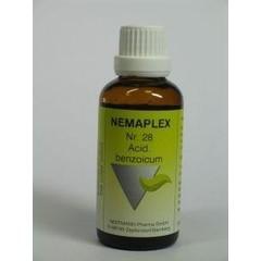 Nestmann Acidum benzoicum 28 Nemaplex (50 ml)