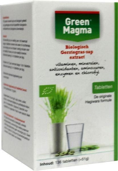 Green magma (136 tabletten)