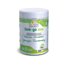 Be-Life Gink-go 3000 bio (60 softgels)