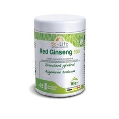 Be-Life Red ginseng 500 bio (45 softgels)