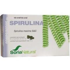Soria Spirulina maxima 400 18-S (60 tabletten)