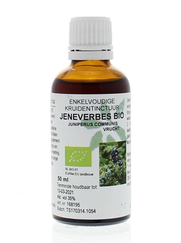 Natura Sanat Natura Sanat Juniperus communis fruct / jeneverbes tinctuur bio (50 ml)