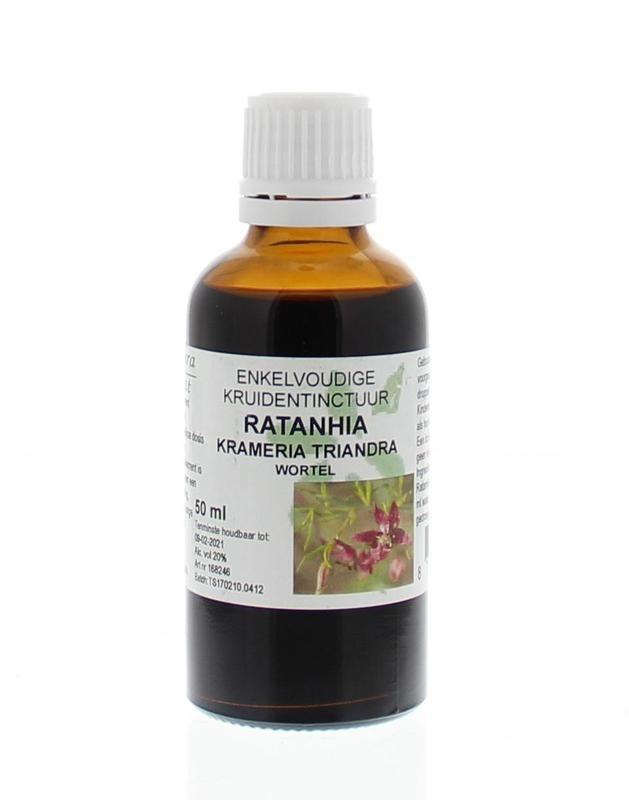 Natura Sanat Natura Sanat Krameria triandra radix / ratanhia tinctuur (50 ml)