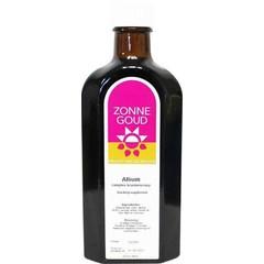 Zonnegoud Allium siroop (150 ml)