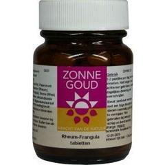 Zonnegoud Rheum frangula (120 tabletten)