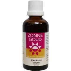 Zonnegoud Pau d Arco simplex (50 ml)