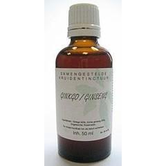 Natura Sanat Ginkgo / ginseng compl tinctuur (50 ml)