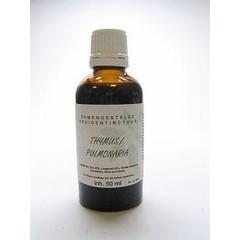 Natura Sanat Thymus / pulmonaria compl tinctuur (50 ml)
