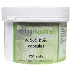 Natuurapotheek ASCKG (250 capsules)