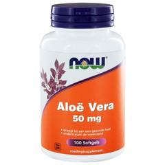 NOW Aloe Vera 50 mg (100 softgels)
