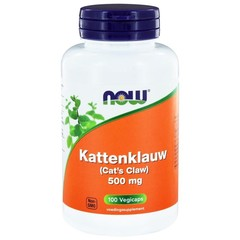 NOW Kattenklauw 500 mg (100 Vcaps)