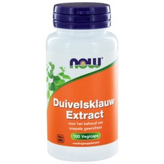 NOW Duivelsklauw extract (100 vcaps)