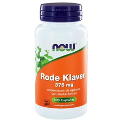 NOW Rode Klaver 375 mg (100 capsules)