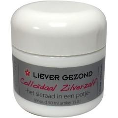 Liever Gezond Colloidaal zilverzalf (50 ml)