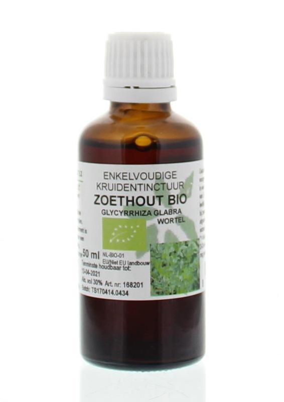 Natura Sanat Natura Sanat Glycyrrhiza glabra radix / zoethout tinctuur bio (50 ml)