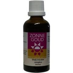 Zonnegoud Viola tricolor simplex (50 ml)