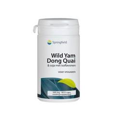 Springfield Wild yam / dong quai (60 vcaps)