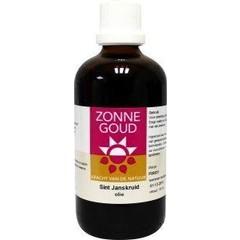 Zonnegoud Sint Janskruid olie (100 ml)