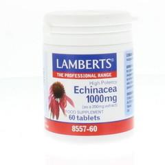 Lamberts Echinacea 1000 mg met zink en vitamine C (60 tabletten)