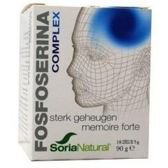 Soria Fosfoserine complex zakjes (18 stuks)