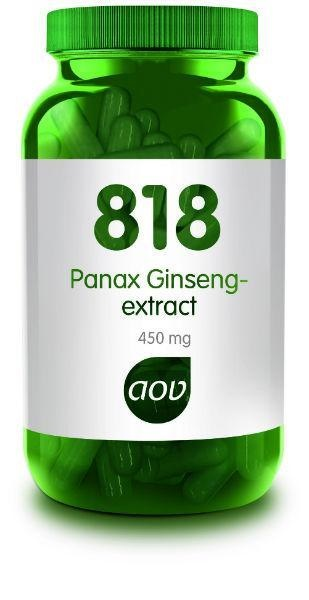AOV AOV 818 Panax ginseng extract 450 mg (180 vcaps)