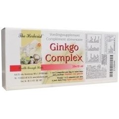 Herborist Ginkgo complex 10 ml (20 ampullen)