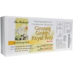 Herborist Ginseng ginkgo royal jelly 10 ml (20 ampullen)