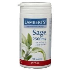 Lamberts Salie (sage) (90 tabletten)