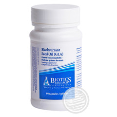Biotics Zwarte bessenzaad olie 535 mg (60 capsules)