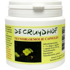 Cruydhof Teunisbloemolie capsules (120 capsules)