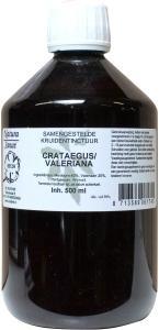 Natura Sanat Natura Sanat Crataegus / valeriana compl tinctuur (500 ml)