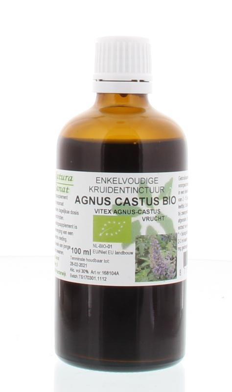 Natura Sanat Natura Sanat Vitex agnus castus fruct tinctuur bio (100 ml)