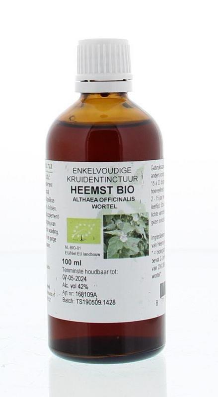 Natura Sanat Natura Sanat Althaea officinalis rad / heemst tinctuur bio (100 ml)