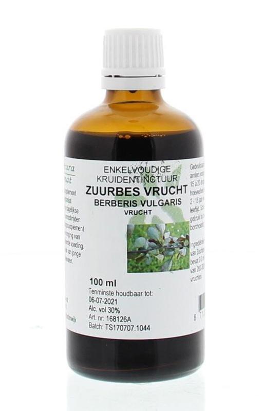 Natura Sanat Natura Sanat Berberis vulgaris / zuurbes vrucht tinctuur (100 ml)