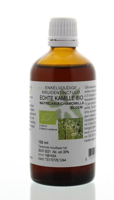 Natura Sanat Natura Sanat Matricaria chamomilla fl / echte kamille tinctuur (100 ml)