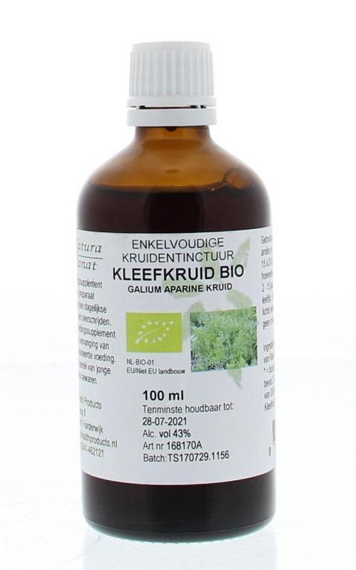 Natura Sanat Natura Sanat Galium aparine herb / kleefkruid tinctuur bio (100 ml)