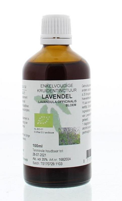 Natura Sanat Natura Sanat Lavandula officinalis flor tinctuur bio (100 ml)